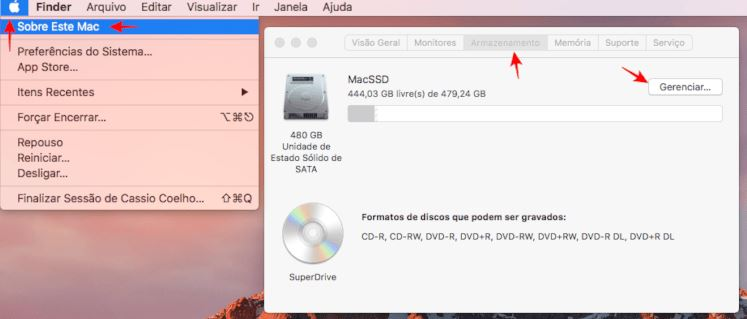 melhorar o desempenho do Mac
