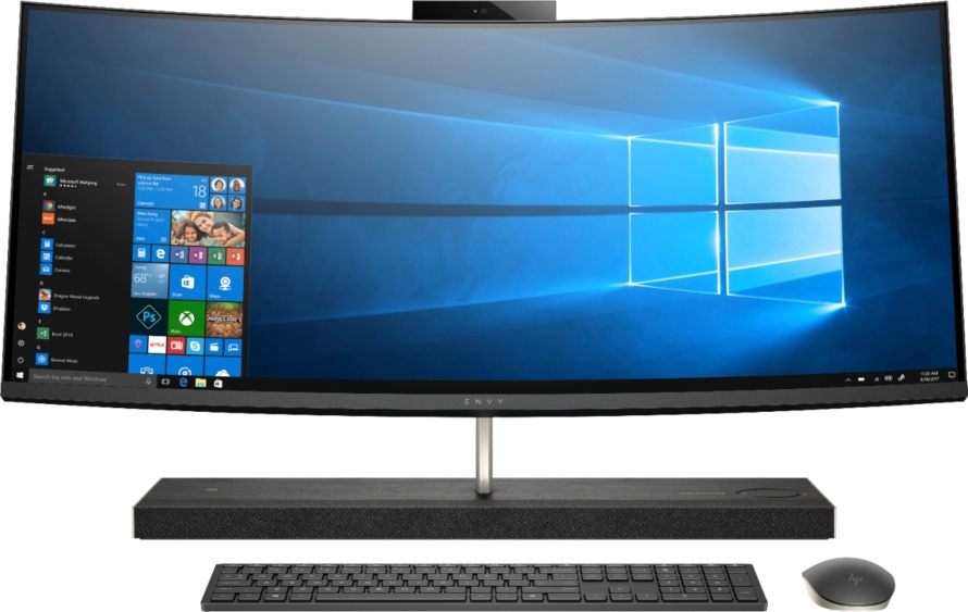 Business PC All-in-One HP EliteOne 1000 G1 34 pol. curvo