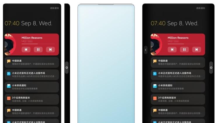 Patente revela Smartphone Xiaomi sem bordas com câmera frontal sob a tela
