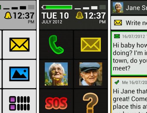Aplicativo para deixar celular com ícones grandes