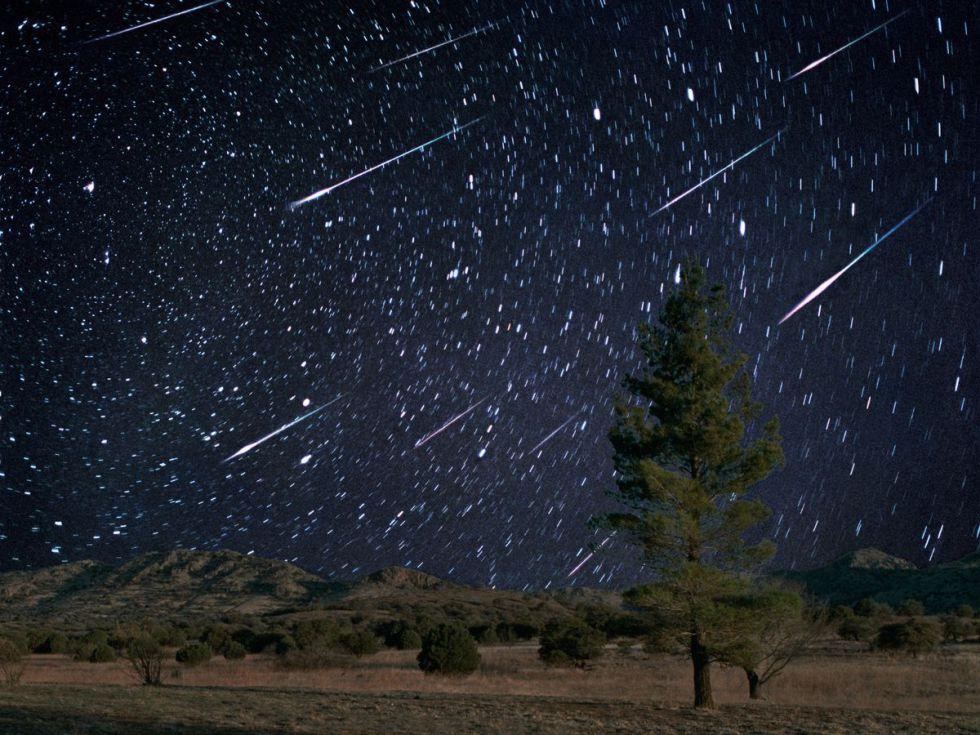 Chuva de detritos do cometa Halley