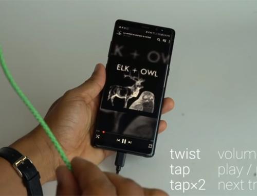 Google cria cabo touch que controla aparelhos