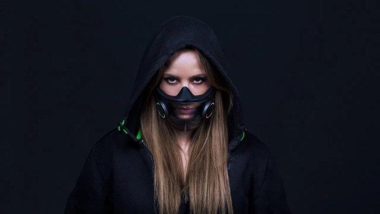 Projeto Hazel a máscara facial inteligente da Razer