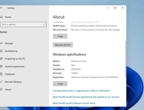 Visual do novo Windows 11